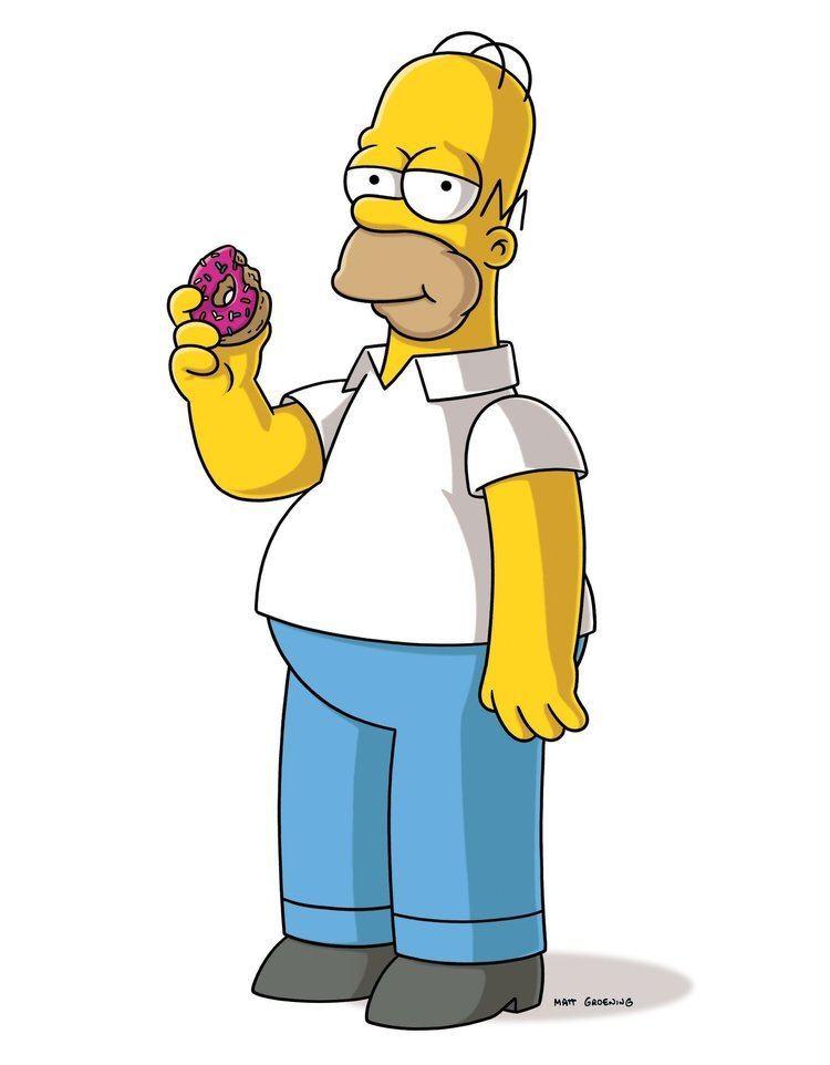 Homer Simpson Homer Simpson picks Chicago deep dish pizza over New York Chicago