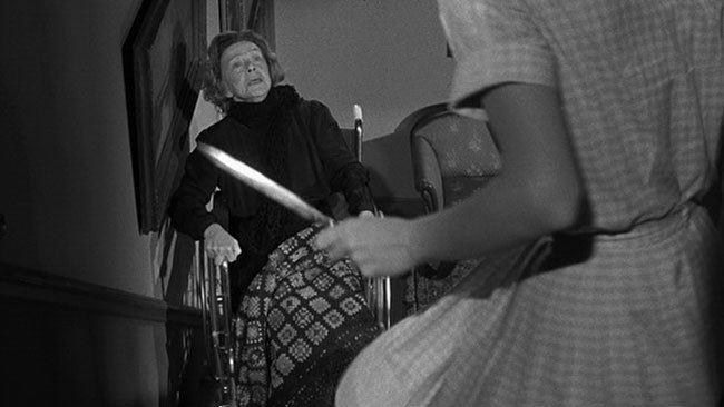 Homicidal (film) movie scenes Homicidal 1961