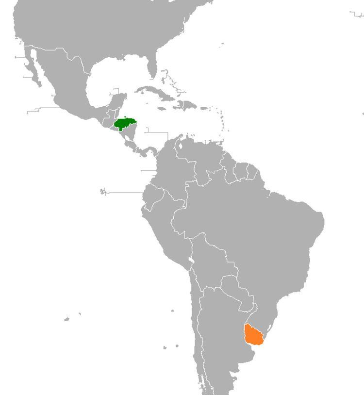 Honduras–Uruguay relations