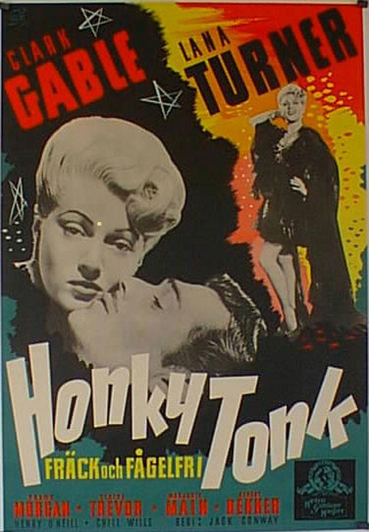 Honky Tonk (1941 film) CLARK GABLE MOVIE POSTER HONKY TONK MOVIE POSTER