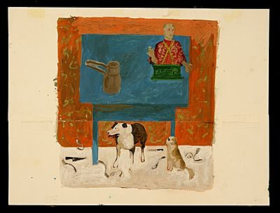 Honoré Desmond Sharrer 1000 images about Dog Days on Pinterest Eero saarinen Two dogs