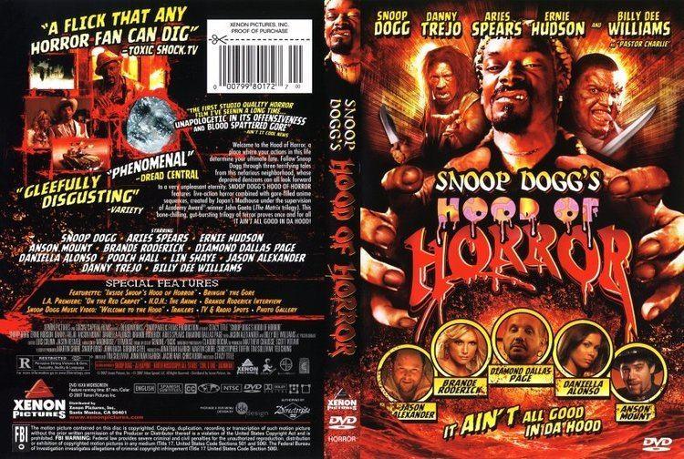 Hood of Horror Snoop Doggs Hood of Horror Movie DVD Scanned Covers 1322Hood of