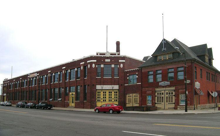 Hook and Ladder House No. 5–Detroit Fire Department Repair Shop