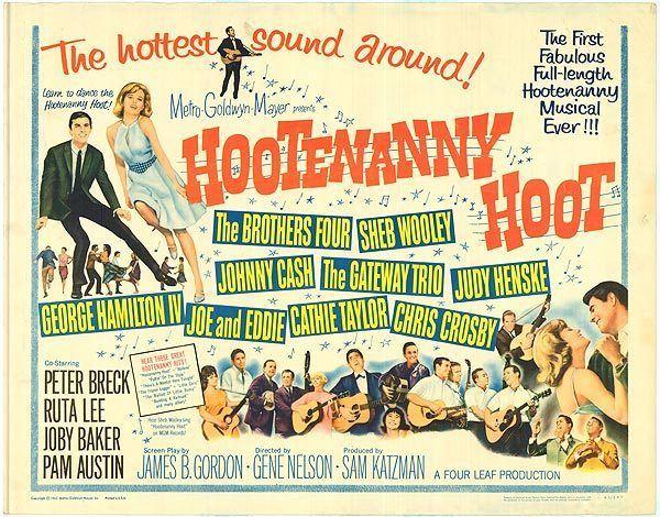 Hootenanny Hoot Hootenanny Hoot movie posters at movie poster warehouse moviepostercom