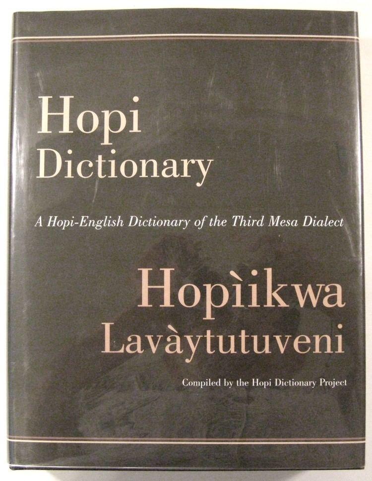 Hopi Dictionary: Hopìikwa Lavàytutuveni httpswwwthornbookscompictures17770jpgv13