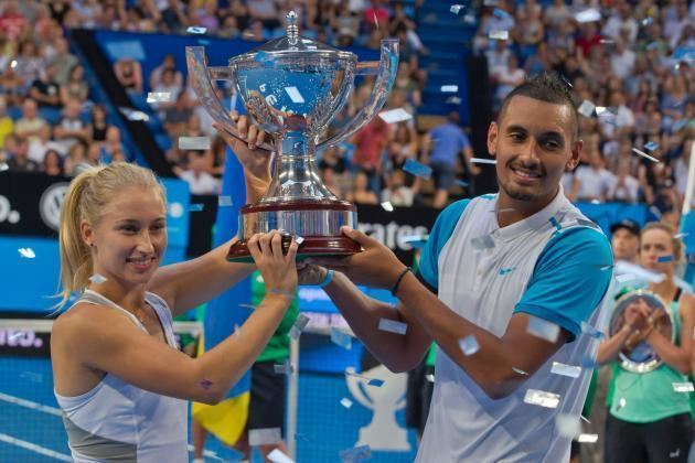 Hopman Cup Hopman Cup 2016 Results Australia Green vs Ukraine Score and