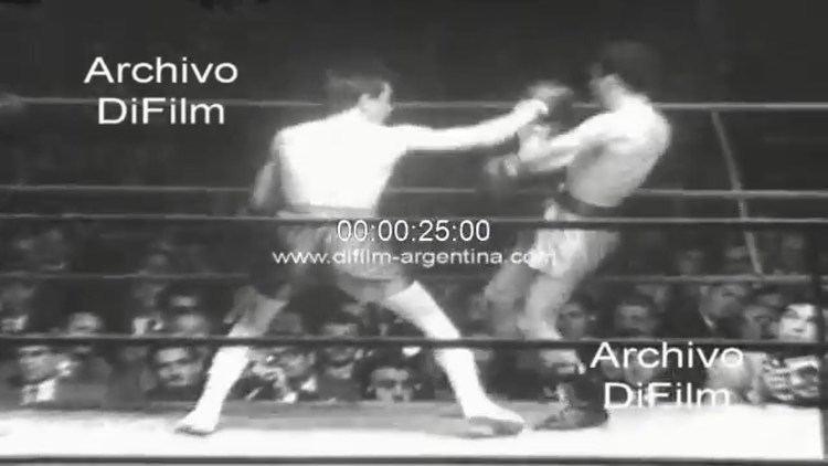 Horacio Accavallo DiFilm Horacio Accavallo derrota a Carlos Miranda 1960 YouTube