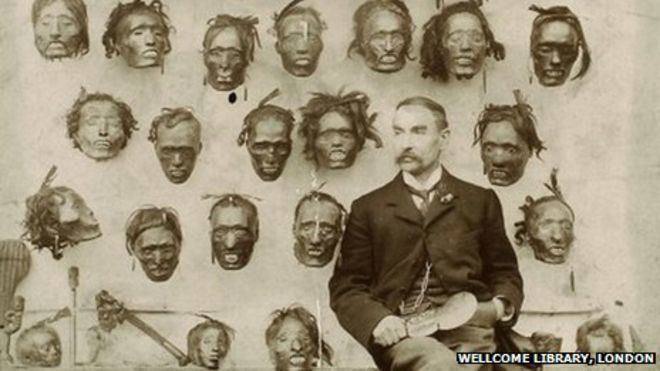 Horatio Gordon Robley What to do with an ancient skull and head collection