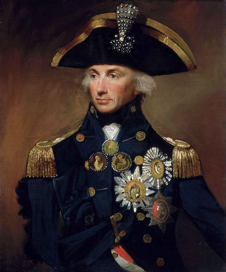 Horatio Nelson, 1st Viscount Nelson httpsuploadwikimediaorgwikipediacommons77