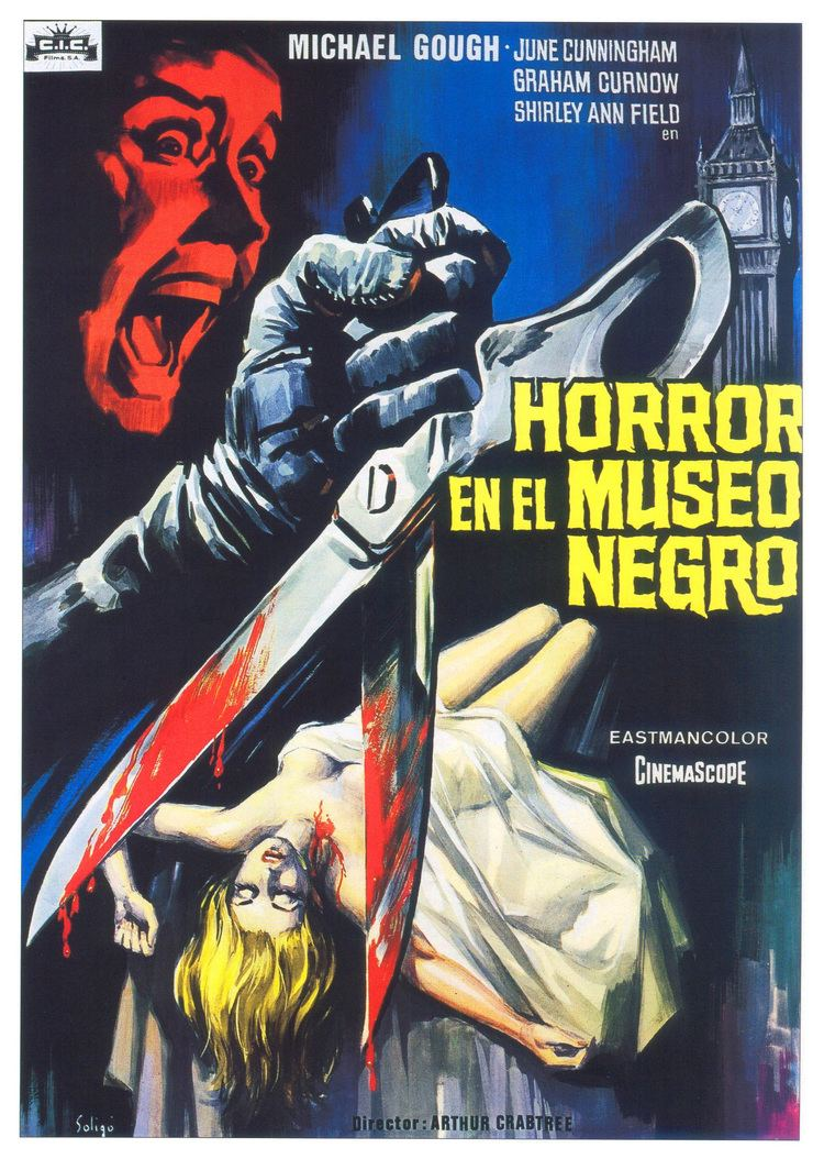 Horrors of the Black Museum Poster for Horrors of the Black Museum 1959 UK Wrong Side of