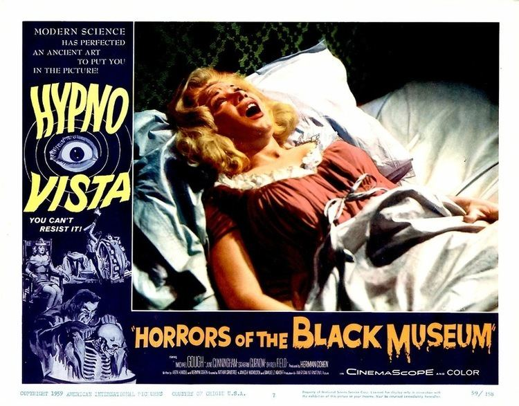 Horrors of the Black Museum ReviewOMatic Blog Archive Horrors of the Black Museum 1959