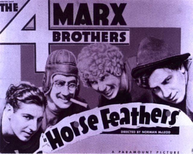 Horse Feathers Horse Feathers 1932 The Marx Brothers