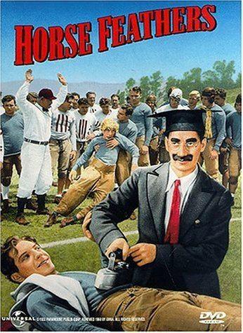 Horse Feathers Amazoncom Horse Feathers Groucho Marx Chico Marx Harpo Marx