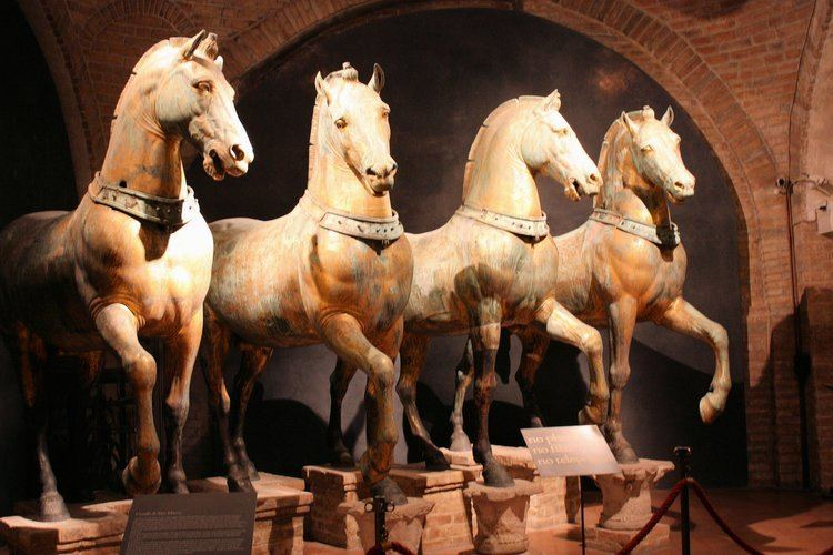 Horses of Saint Mark The Horses of St Mark39s Ancient History et cetera