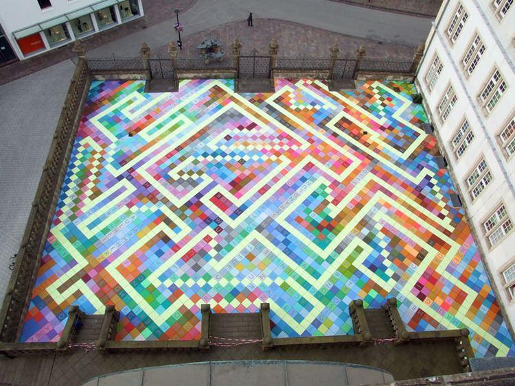 Horst Gläsker Horst Glsker Art in Architecture unurth street art