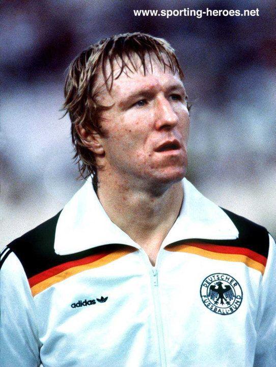 Horst Hrubesch Horst HRUBESCH FIFA Weltmeisterschaft 1982 World Cup