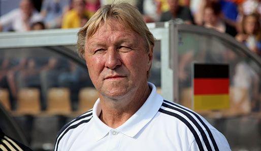 Horst Hrubesch Rdiger und Bildirici treffen HrubeschTeam siegt in der