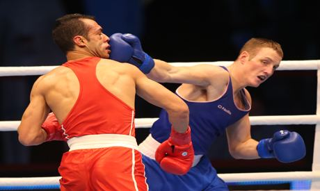 Hosam Bakr Abdin Boxing Hossam Bakr becomes third ever Egyptian World Championship