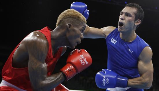 Hosam Bakr Abdin Boxing Egypts Hossam Bakr one win short of Rio medal after