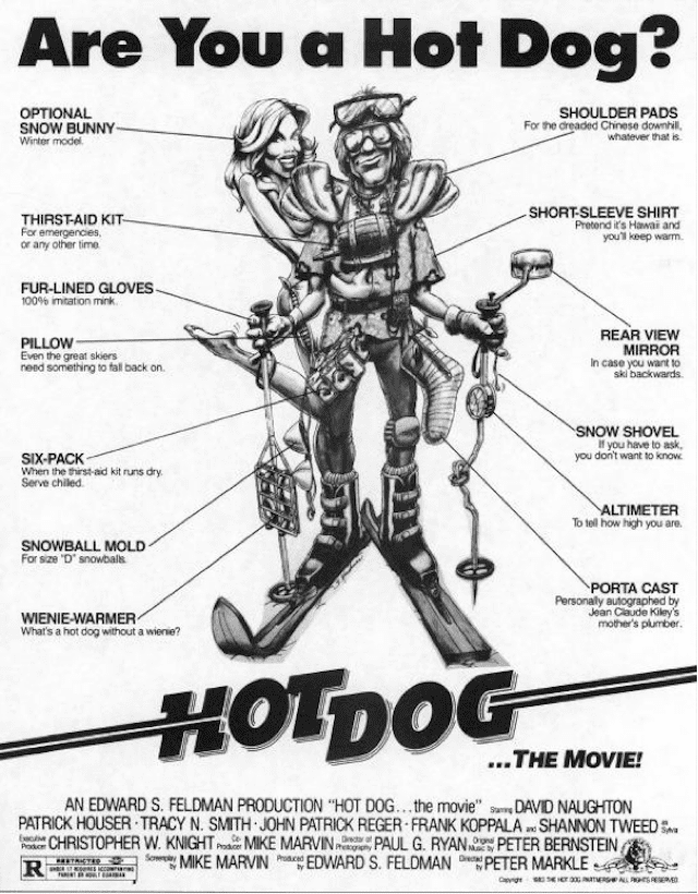 Hot Dog…The Movie Hot Dog Is Getting a Sequel Hot Dog The Journal Part I Teton