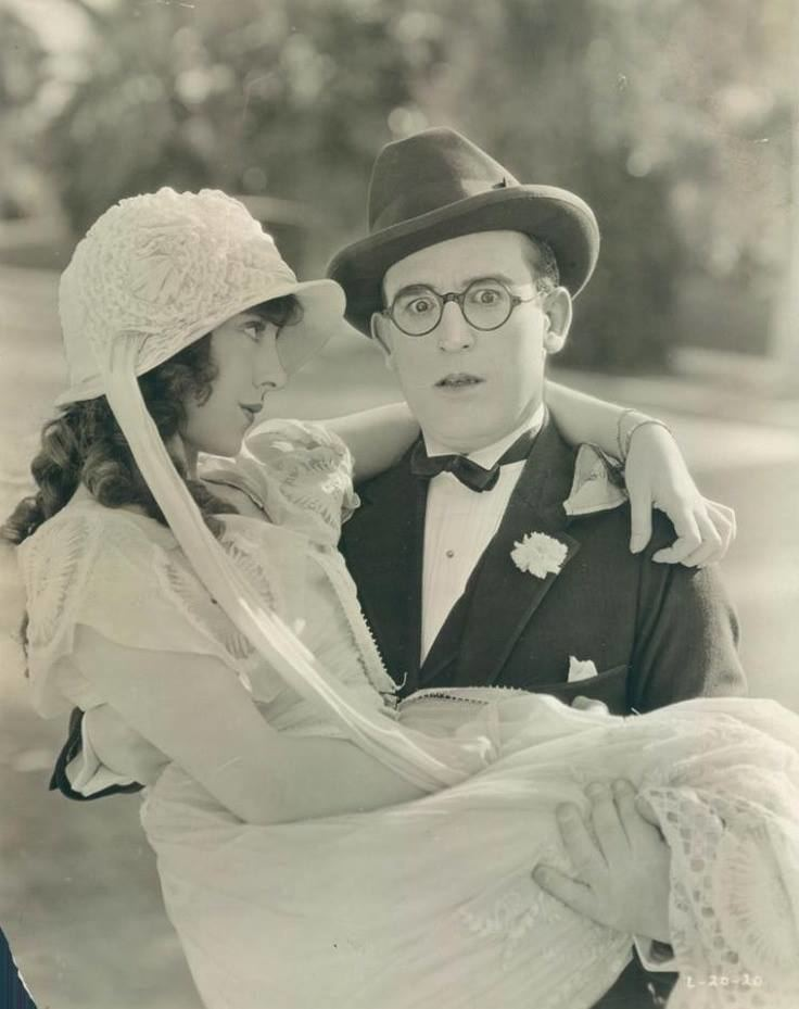 Hot Water (1924 film) Jobyna Ralston and Harold Lloyd Hot Water 1924 Silent Movie Star