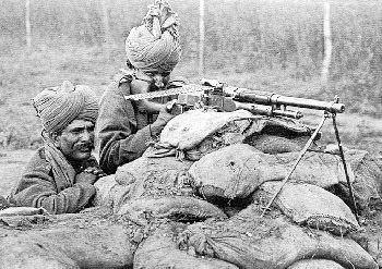 Hotchkiss M1909 Benét–Mercié machine gun