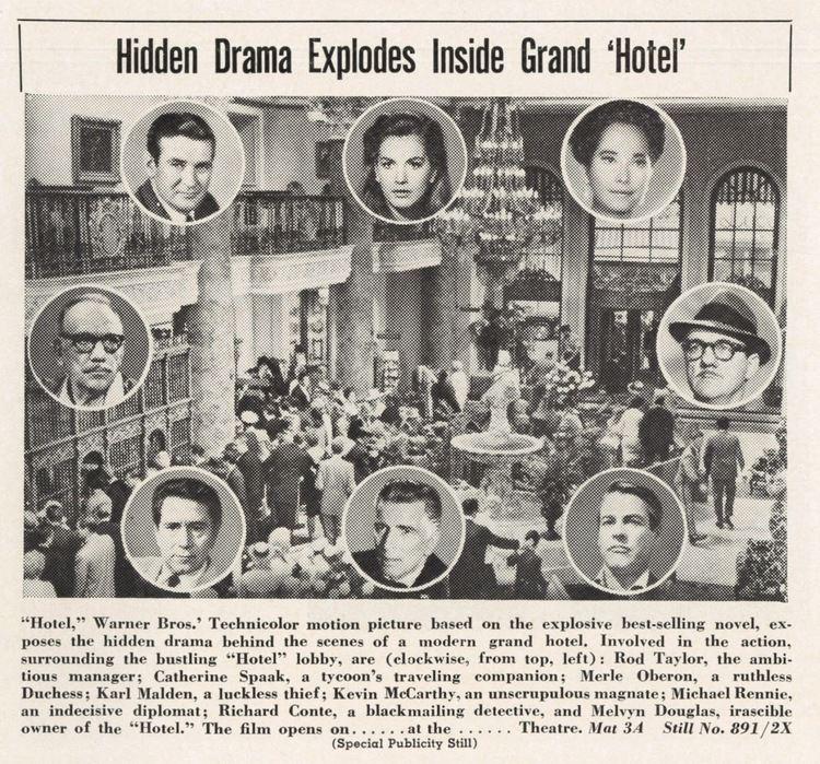 Hotel (1967 film) Greenbriar Picture Shows WB Unlocks SensationFilled Best Seller
