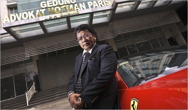 Hotman Paris Hutapea A Top Indonesian Lawyer May Be Honest to a Fault The New