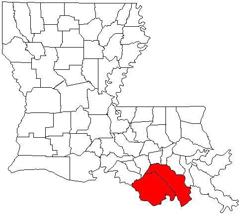 Houma – Bayou Cane – Thibodaux metropolitan area