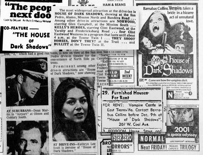House of Dark Shadows The Collinsport Historical Society What a minute when did HOUSE