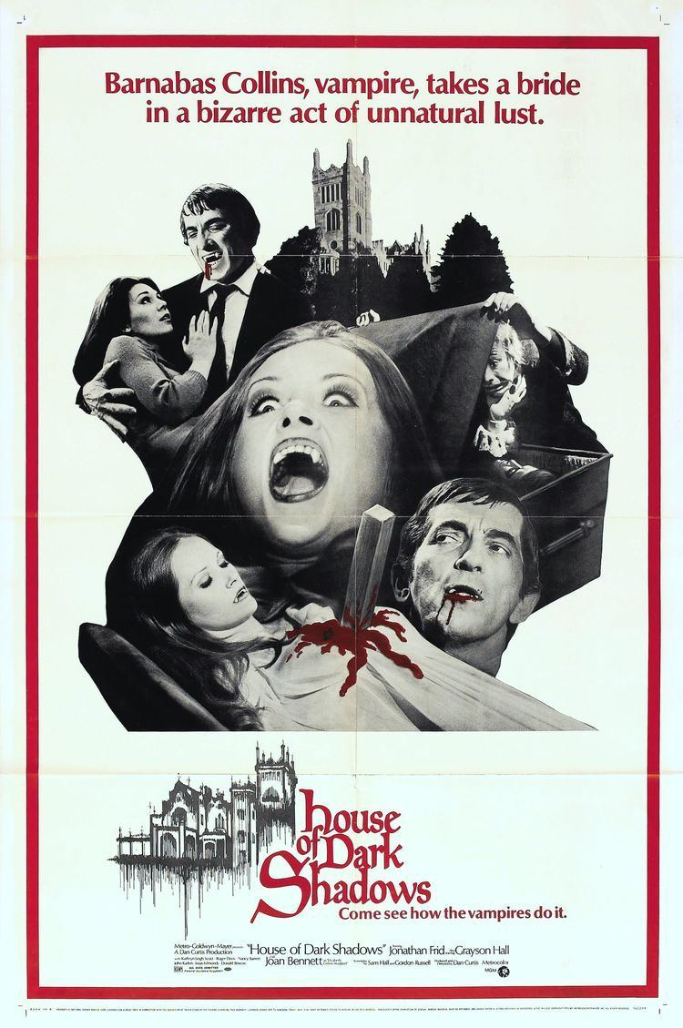 House of Dark Shadows Poster for House of Dark Shadows 1970 USA Wrong Side of the Art