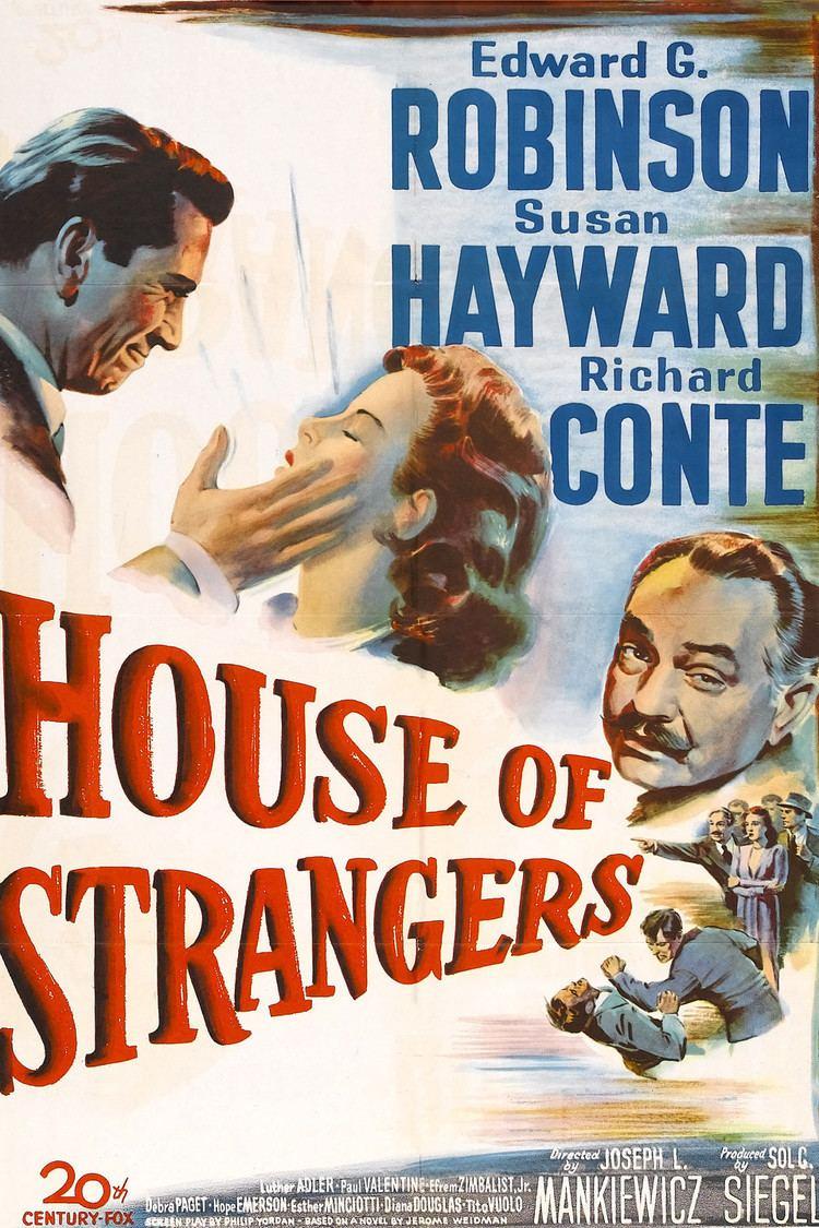 House of Strangers wwwgstaticcomtvthumbmovieposters38932p38932
