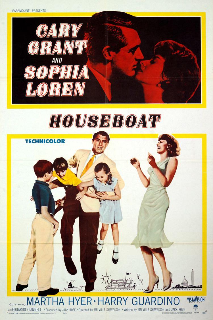 Houseboat (film) wwwgstaticcomtvthumbmovieposters2943p2943p