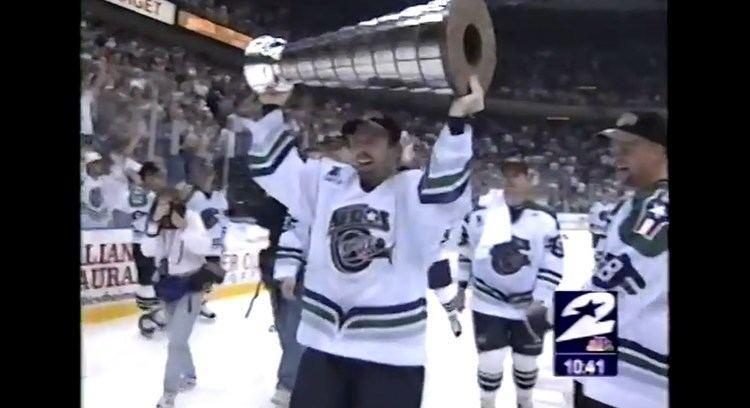 Houston Aeros (1994–2013) Houston Aeros Win Turner Cup 1999 IHL YouTube