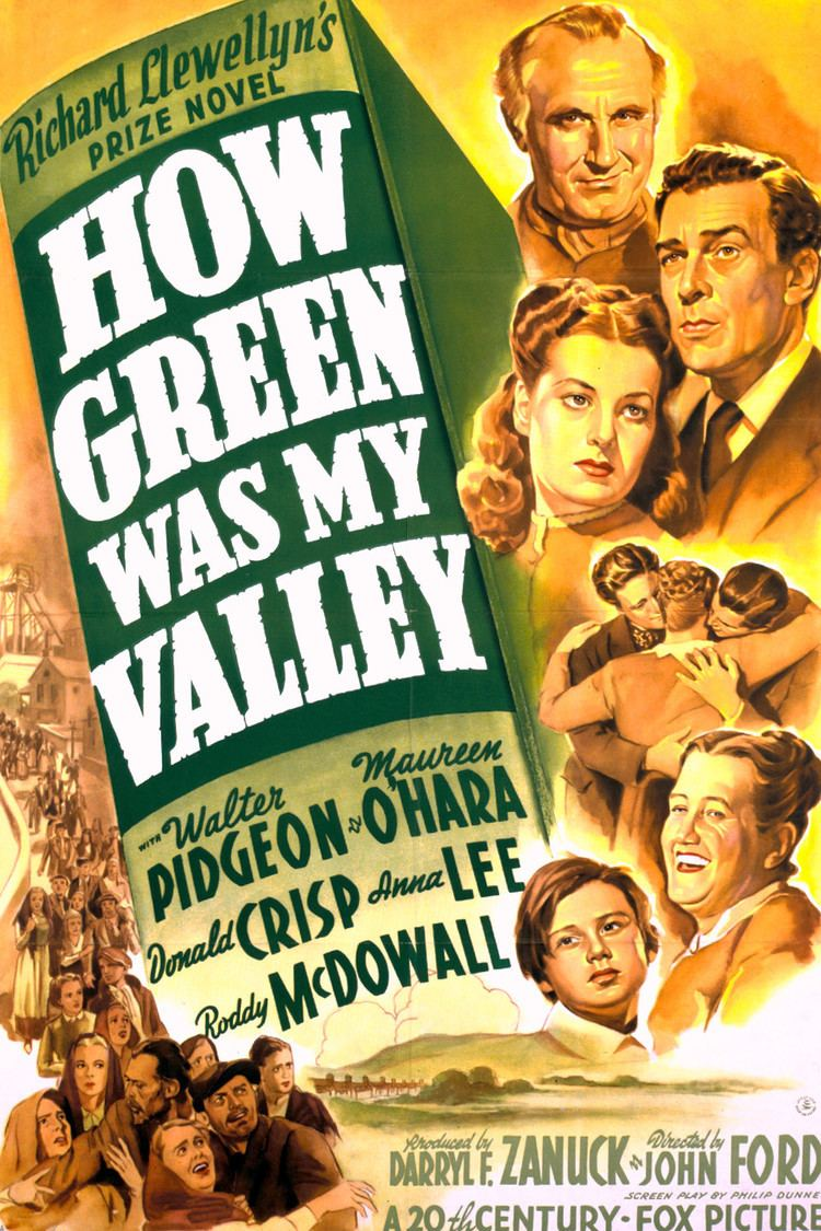 How Green Was My Valley (film) wwwgstaticcomtvthumbmovieposters1598p1598p