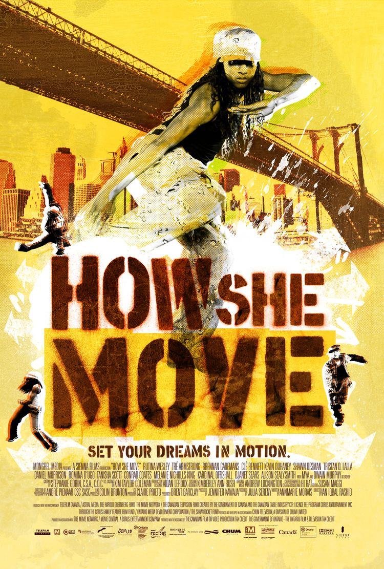 How She Move Celluloid Dreams Celluloid Dreams Library GH How She Move