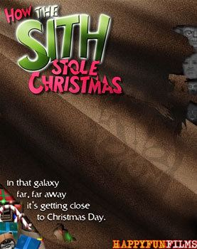How the Sith Stole Christmas movie poster