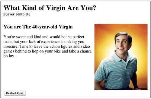 When to lose your virginity quiz