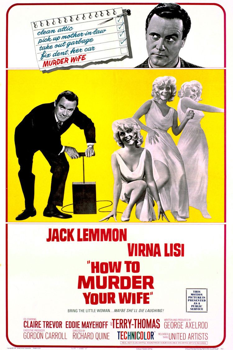 How to Murder Your Wife wwwgstaticcomtvthumbmovieposters2363p2363p