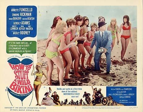 How to Stuff a Wild Bikini HOW TO STUFF A WILD BIKINI 1965 Cinema Fiasco