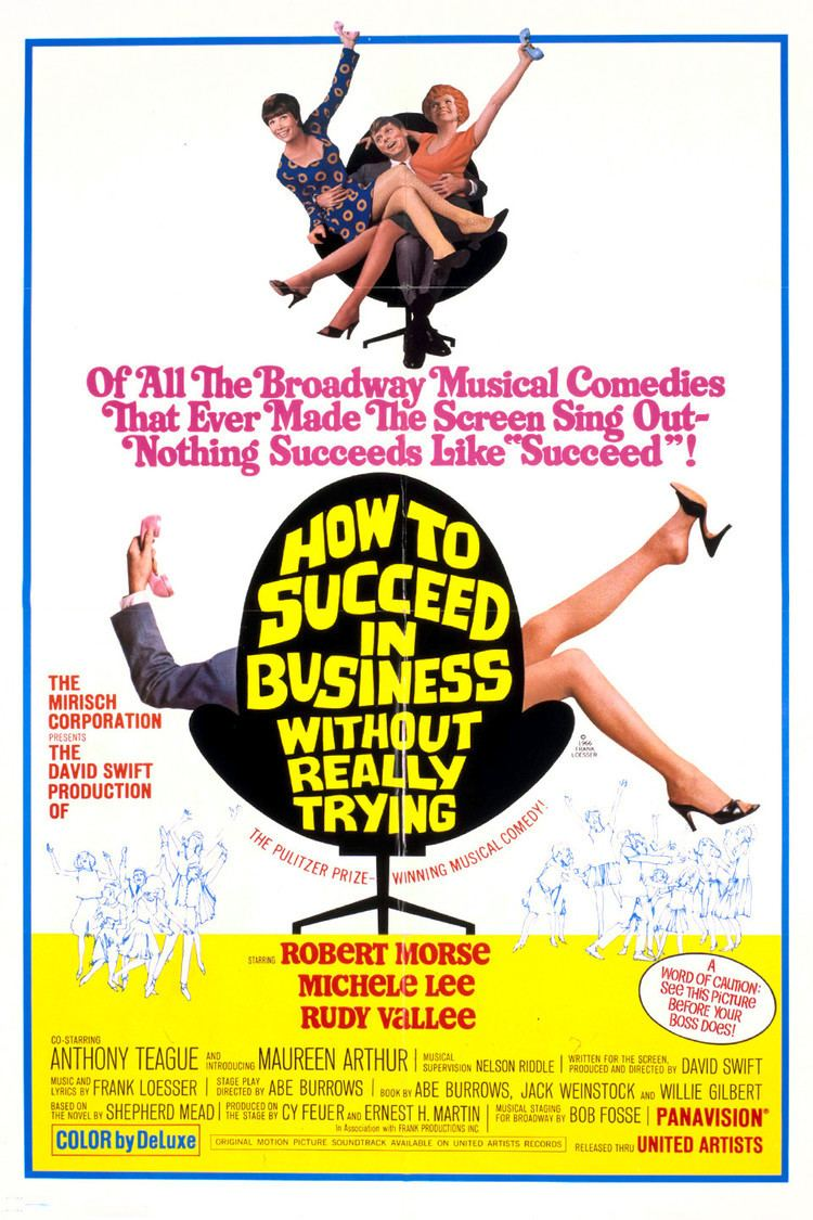 How to Succeed in Business Without Really Trying (film) wwwgstaticcomtvthumbmovieposters4921p4921p