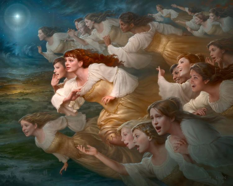 Howard Lyon Howard Lyon Mormon Artist