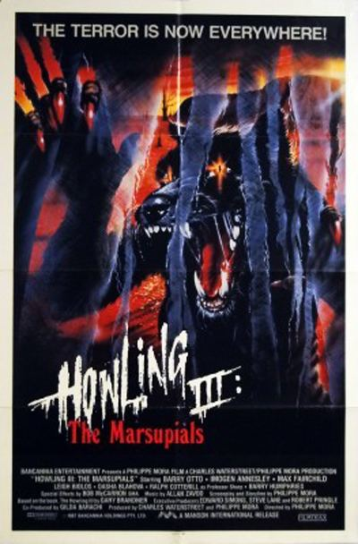Howling III Howling III The Marsupials 1987 Review BasementRejects