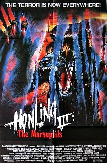 Howling III The Bloody Pit of Horror Howling III 1987