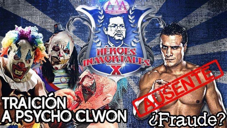 Héroes Inmortales X hroes inmortales X traicin a Psycho clown No lleg Alberto el
