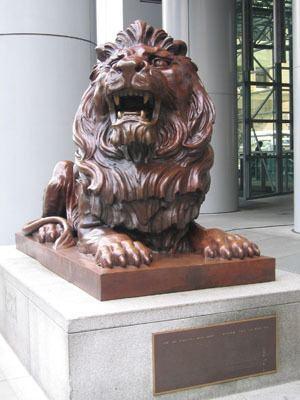 HSBC lions