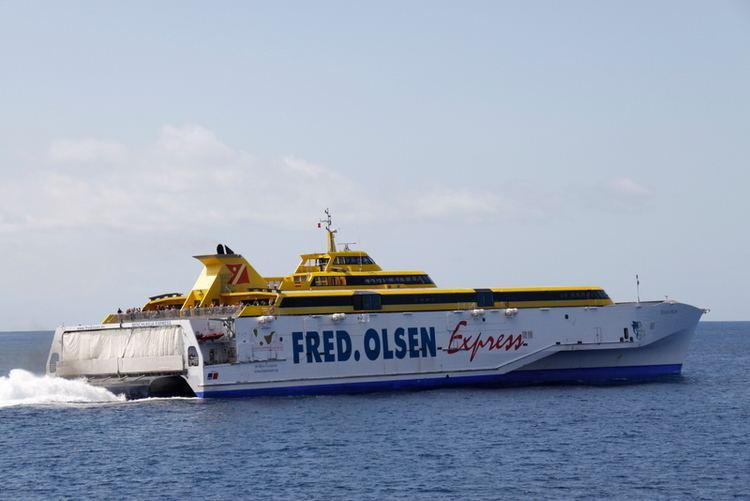 HSC Benchijigua Express The ferry site