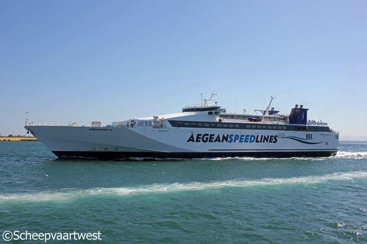 HSC Speedrunner IV scheepvaartwest Speedrunner IV IMO 9141883