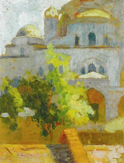 Hüseyin Avni Lifij Hseyin Avni LFJ Sanat Detay Turkish Paintings