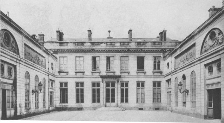 Hôtel de Bourbon-Condé FileHtel de BourbonCond interior courtyard Parker1967jpg